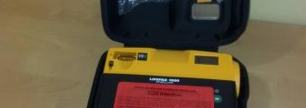 Übergabe LIFEPAK 1000 Defibrillator